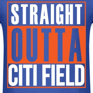Straight Outta Field City T-Shirts - Men's T-Shirt