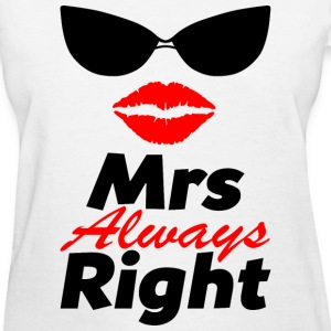 MrsRight-couple - Women's T-Shirt
