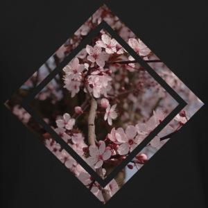 Cherry Blossom Design  Long Sleeve Shirts - Crewneck Sweatshirt