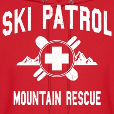 Ski Patrol - Mountain Rescue (vintage look)