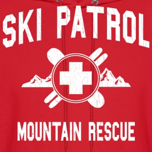 Ski Patrol - Mountain Rescue (vintage look) - Men's Hoodie