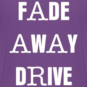 Fade Away Drive T Purple - Men's Premium T-Shirt