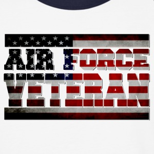 air-force-veteran-blk.png T-Shirts - Baseball T-Shirt