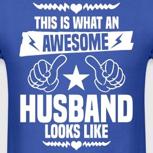 Awesome Husband Looks Like T-Shirts - Men's T-Shirt