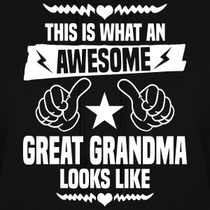 Awesome Great Grandma Looks Like Hoodies - Women's Hoodie