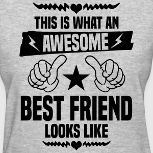 Awesome Best Friend Looks Like Women's T-Shirts - Women's T-Shirt