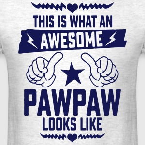 Awesome Pawpaw Looks Like T-Shirts - Men's T-Shirt