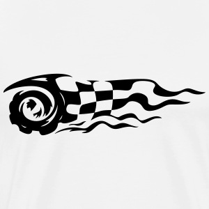 Checkered Flag Racing - Men's Premium T-Shirt