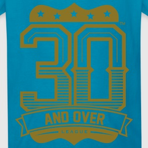 30 AND OVER LEAGUE KIDS TEES - Kids' T-Shirt