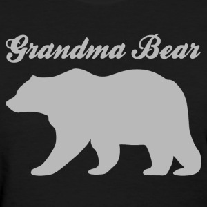 Grandma Bear - Women's T-Shirt