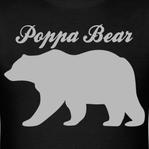 Poppa Bear - Men's T-Shirt