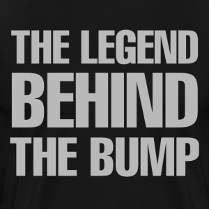 The Legend Behind The Bump - Men's Premium T-Shirt