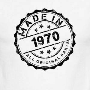 MADE IN 1970 ALL ORIGINAL PARTS T-Shirts - Men's Ringer T-Shirt