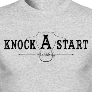 knock A start...blk Long Sleeve Shirts - Men's Long Sleeve T-Shirt by Next Level