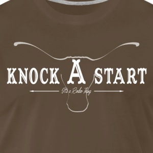 knock A start...steer..wh T-Shirts - Men's Premium T-Shirt