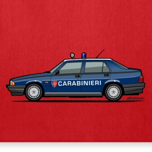 Alfa Romeo 75 Carabinieri Bags & backpacks - Tote Bag