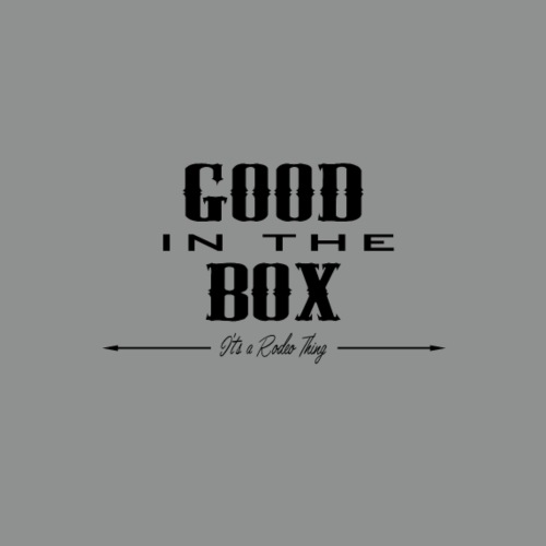 GOOD in the BOX...blk