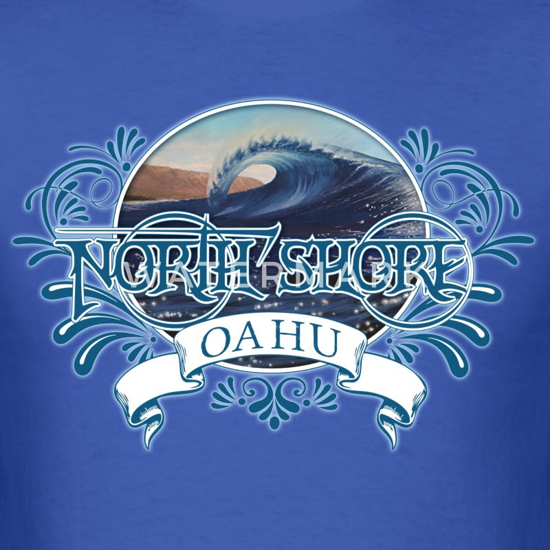 North Shore Oahu T-Shirts - Men's T-Shirt
