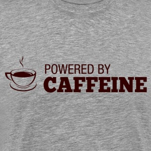 powered by caffeine T-Shirts - Men's Premium T-Shirt