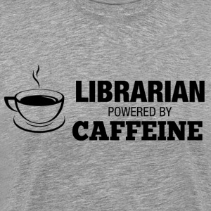 librarian coffee T-Shirts - Men's Premium T-Shirt