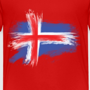 iceland flag Baby & Toddler Shirts - Toddler Premium T-Shirt