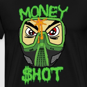 Paintball Money Shot - Men's Premium T-Shirt
