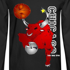 Chicago Bulls Long Sleeve - Men's Long Sleeve T-Shirt
