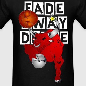 Fade Away Drive Bulls T - Men's T-Shirt