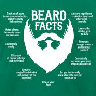 Design ~ Beard Facts (white)