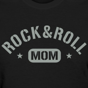 Rock And Roll Mom Women's T-Shirts - Women's T-Shirt