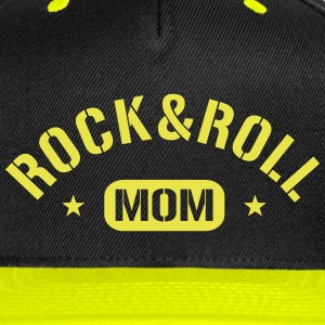 Rock And Roll Mom Caps - Snap-back Baseball Cap