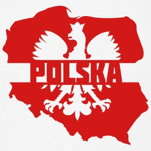 Poland Polska T-Shirts - Men's T-Shirt