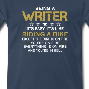 Being a Writer - Men's Premium T-Shirt