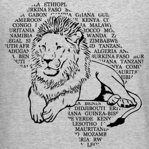 Lion Africa Long Sleeve Shirts - Crewneck Sweatshirt