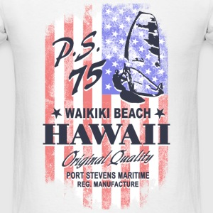 Hawaii Surfing - USA vintage flag T-Shirts - Men's T-Shirt