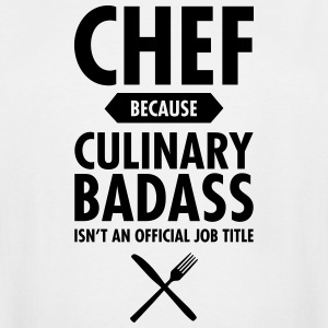 Chef - Culinary Badass T-Shirts - Men's Tall T-Shirt