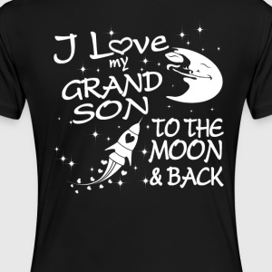 I Love My GrandSon to the Moon and Back - Women's Premium T-Shirt
