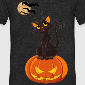 Hallow Night - Unisex Tri-Blend T-Shirt by American Apparel