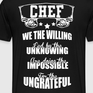 Chef2 - Men's Premium T-Shirt