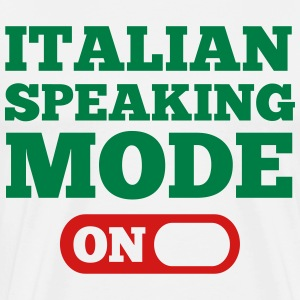 Italian Speaking Mode On T-Shirts - Men's Premium T-Shirt