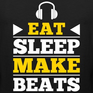 Eat Sleep Make Beats Tank Tops - Men's Premium Tank