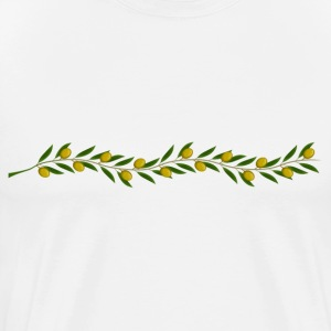 A branch of olive tree - Men's Premium T-Shirt