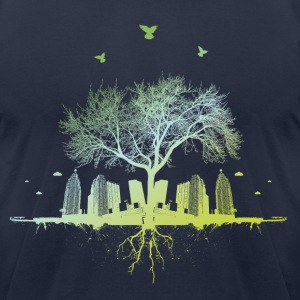 Citytree SHIRT MAN - Men's T-Shirt by American Apparel