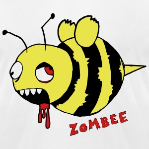 Zombee - Men's T-Shirt by American Apparel