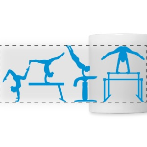 Gymnastics Mugs & Drinkware - Panoramic Mug