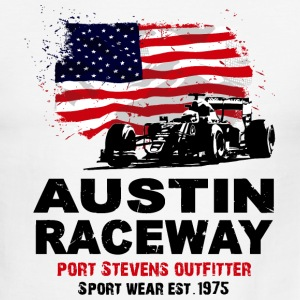 Formula One - Austin Raceway T-Shirts - Men's Ringer T-Shirt
