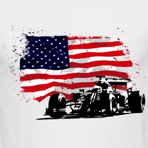 Formula One - Austin Raceway Long Sleeve Shirts - Men's Long Sleeve T-Shirt by Next Level