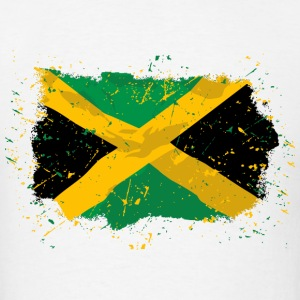 Jamaica Vintage Flag T-Shirts - Men's T-Shirt