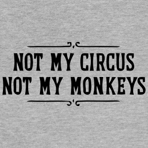 NOT MY CIRCUS - NOT MY MONKEYS Tanks - Women's Flowy Muscle Tank by Bella