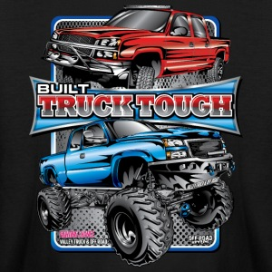 Built Truck Tough Kids' Shirts - Kids' Long Sleeve T-Shirt